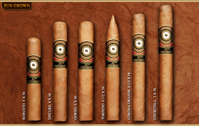 20 Anniversary Perdomo Sun Grown
